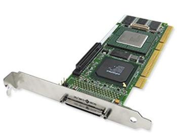 ASR-2120S Adaptec 64MB Cache Single-Port Ultra-320 SCSI PCI RAID 0/1/5/10/50/JBOD Controller Card