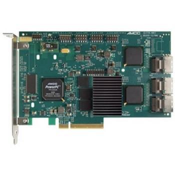9650SE-12ML 3Ware 256MB Cache 12-Port Multi-lane SATA 3Gbps PCI Express x8 Full Height RAID 0/1/5/6/10/50 Single Disk JBOD Controller Card