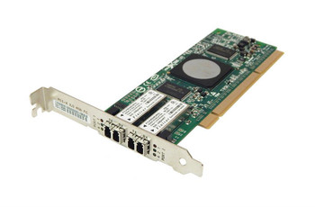 AB379-60002 HP StorageWorks 4GB 64Bit 266MHz Dual Port PCI-X Multi-Mode Fibre Channel Host Bus Adapter