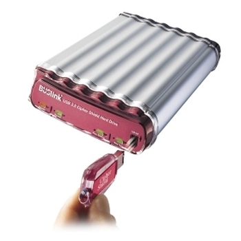 CSC-500-U2 Buslink CipherShield 500GB USB 2.0 Encryption 3.5-inch External Hard Drive (Refurbished)