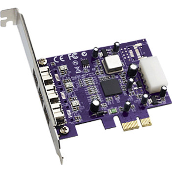 FW800-E Sonnet 3-port FireWire 800 PCIe Card Adatper PCI Express Plug-in Card 3 Firewire Port(s)