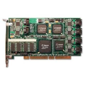 9500S-12 3Ware 9000 Series 128MB Cache 12-Ports SATA 1.5Gbps 64-bit PCI RAID 0/1/5/10/50 JBOD HH Plug-in Controller Card