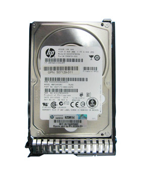 599476002SC HP 450GB 10000RPM SAS 6.0 Gbps 2.5 16MB Cache Hot Swap Hard Drive