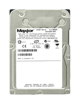 8E073J004C15F Maxtor 73GB 15000RPM Ultra 320 SCSI 3.5 8MB Cache Atlas Hard Drive
