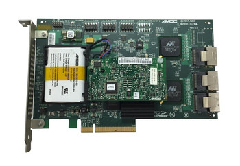 9650SE-12/16ML 3Ware SATA 3Gbps PCI Express x8 RAID Controller Card with Cable