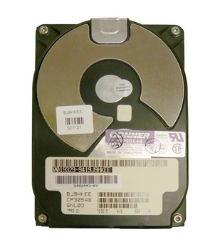 CP30548-3 Conner 535MB 5400RPM Fast Wide SCSI 80-Pin 3.5-inch Internal Hard Drive