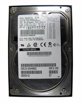 MAG3091LC1 Fujitsu 9GB 10000RPM Ultra2 Wide SCSI 3.5 1MB Cache Hard Drive
