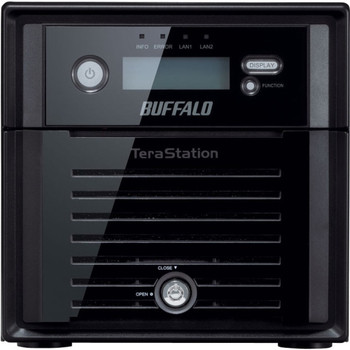 TS5200D0802S Buffalo 8TB (2 x 4TB) TeraStation 5200 NVR 16-Channel NAS Server (Refurbished)