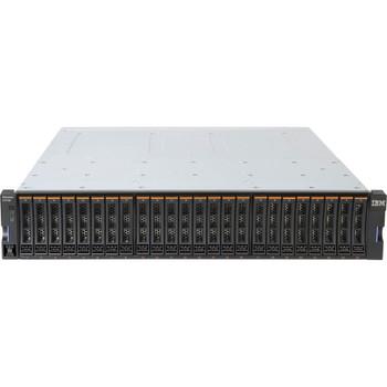 2072T2C IBM StorWize V3700 2U Rack-Mountable SFF DC Dual Control Enclosure SAS 6Gbps Controller 24x Total Bay iSCSI