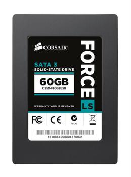 CSSD-F60GBLSB Corsair Force LS Series 60GB MLC SATA 6Gbps 2.5-inch Internal Solid State Drive (SSD)