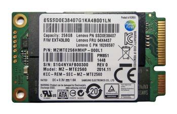 MZMTE2560 Samsung PM851 Series 256GB TLC SATA 6Gbps (AES-256) mSATA Internal Solid State Drive (SSD)