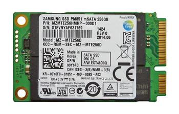 MZMTE256D Samsung PM851 Series 256GB TLC SATA 6Gbps (AES-256) mSATA Internal Solid State Drive (SSD)