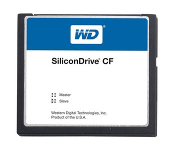 SSD-C64M-3576 Western Digital SiliconDrive 64MB ATA/IDE (PATA) CompactFlash (CF) Type I Internal Solid State Drive (SSD)