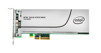 SSDPEDMW400G4X1-A1 Intel 750 Series 400GB MLC PCI Express 3.0 x4 NVMe (PLP) HH-HL Add-in Card Solid State Drive (SSD)