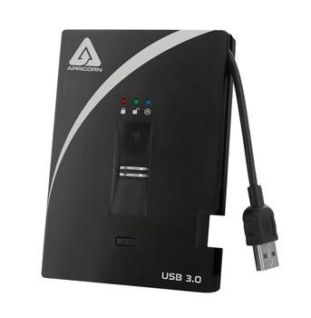 A25-3BIO256-2000 Apricorn Aegis Bio 3.0 2TB 5400RPM USB 3.0 8MB Cache (AES-256) 2.5-inch External Hard Drive (Refurbished)