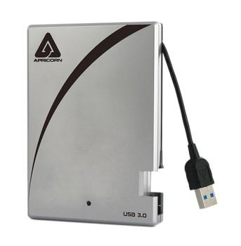 A25-3USB-S256 Apricorn Aegis Portable 3.0 256GB USB 3.0 2.5-inch External Solid State Drive (SSD)