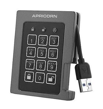 ASSD-3PL256-240F Apricorn Aegis Padlock 240GB USB 3.0 (AES-256 FIPS 140-2) External Solid State Drive (SSD)
