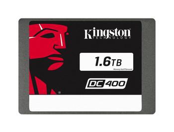 SEDC400S371600G Kingston SSDNow DC400 Series 1.6TB MLC SATA 6Gbps 2.5-inch Internal Solid State Drive (SSD)