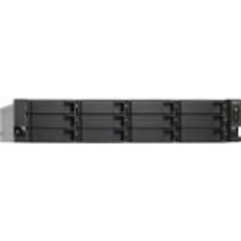 TS-1263U-4G-US QNAP High Performance Quad-core 10GbE NAS (Refurbished)