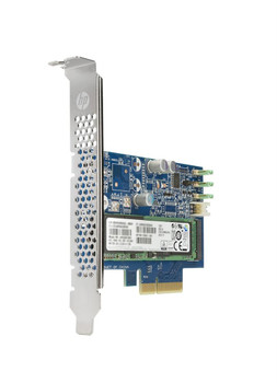 Y1T58AA HP Z Turbo Drive G2 512GB MLC PCI Express NVMe 3.0 x4 (SED) HH-HL Add-in Card Solid State Drive (SSD)