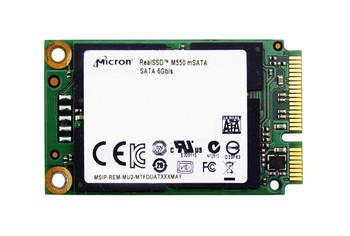 MTFDDAT256MAY1AH1Z Micron M550 256GB MLC SATA 6Gbps mSATA Internal Solid State Drive (SSD)