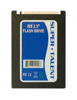 FHD16GW25I Super Talent DuraDrive ET2 Series 16GB SLC ATA/IDE (PATA) 2.5-inch Internal Solid State Drive (SSD) (Industrial)