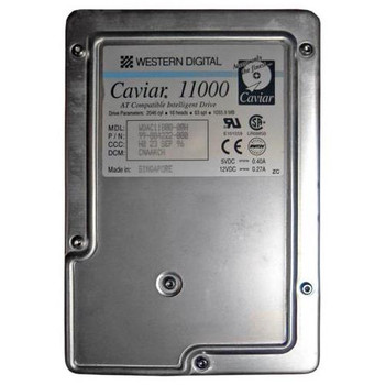 AC11000 Western Digital 1GB 5200RPM ATA 3.5 128KB Cache Caviar Hard Drive