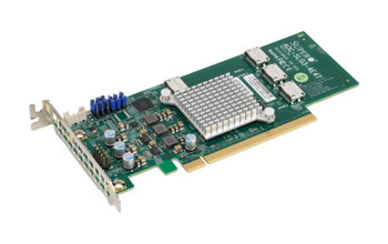 AOC-SLG3-4E4T-O SuperMicro Quad Port Oculink Retimer PCI Express 3.0 x16 NVMe HBA Controller Card