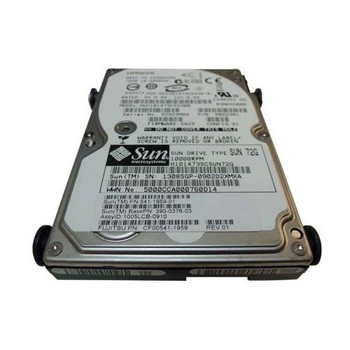 541-1959 Sun 73GB 10000RPM SAS 3.0 Gbps 2.5 16MB Cache Hot Swap Hard Drive