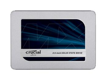CT500MX500SSD1 Crucial MX500 Series 500GB TLC SATA 6Gbps (AES-256 / TCG Opal 2.0) 2.5-inch Internal Solid State Drive (SSD)