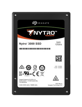 XS800ME10023 Seagate Nytro 3730 800GB eMLC SAS 12Gbps Mainstream Endurance (FIPS 140-2) 2.5-inch Internal Solid State Drive (SSD)