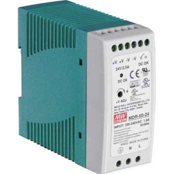 TI-M6024 TRENDnet 60 W Single Output Industrial Din-Rail Power Supply