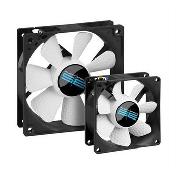 D80SH-12-1 Foxconn 80 x 25mm 12-Volt DC 0.18aMP 3-Wire Brushless Case Fan