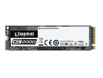 SKC2000M8/1000G Kingston KC2000 Series 1TB TLC PCI Express 3.0 x4 NVMe (AES-256 / TCG Opal 2.0) M.2 2280 Internal Solid State Drive (SSD)