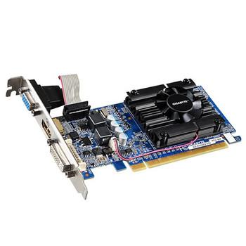 GV-N210D3-1GI Gigabyte GeForce 210 1GB DDR3 64-Bit HDMI / DVI-I / D-Sub PCI-Express 2.0 Video Graphics Card