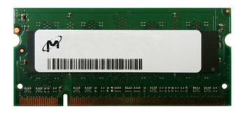 MT8HTF12864HZ-800HZES Micron 1GB PC2-6400 DDR2-800MHz non-ECC Unbuffered CL6 200-Pin SoDimm Single Rank Memory Module