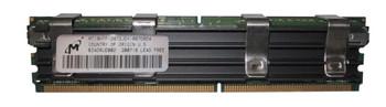 MT18HTF12872JDY-667D6D4 Micron 1GB PC2-5300 DDR2-667MHz ECC Fully Buffered CL5 240-Pin DIMM Dual Rank Memory Module