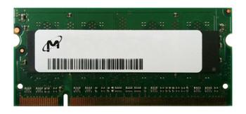 MT8GTF12864HDY-667EZES Micron 1GB PC2-5300 DDR2-667MHz non-ECC Unbuffered CL5 200-Pin SoDimm Dual Rank Memory Module