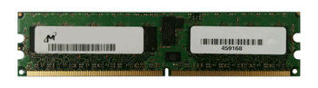 MT18HTF25672DY-53EEZES Micron 2GB PC2-4200 DDR2-533MHz ECC Registered CL4 240-Pin DIMM Dual Rank Memory Memory Module