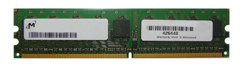 MT18HTF51272AY-40EAZES Micron 2GB PC2-3200 DDR2-400MHz ECC Unbuffered CL3 240-Pin DIMM Memory Module