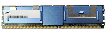 MT18HTF12872FY-53EB5E3 Micron 1GB PC2-4200 DDR2-533MHz ECC Fully Buffered CL4 240-Pin DIMM Single Rank Memory Module