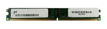 MT36HVS51272PZ-80EGZES Micron 4GB PC2-6400 DDR2-800MHz ECC Registered CL5 240-Pin DIMM Very Low Profile (VLP) Dual Rank Memory Module