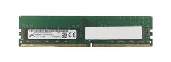 MTA18ASF2G72AZ-2G3B1ZI Micron 16GB PC4-19200 DDR4-2400MHz ECC Unbuffered CL17 288-Pin DIMM 1.2V Dual Rank Memory Module