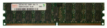 HYMP151P72CP4-Y5-AB Hynix 4GB PC2-5300 DDR2-667MHz ECC Registered CL5 240-Pin DIMM Dual Rank Memory Module