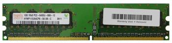 HYMP112U64CP8-S6-AB-C Hynix 1GB PC2-6400 DDR2-800MHz non-ECC Unbuffered CL6 240-Pin DIMM Single Rank Memory Module