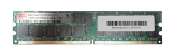 HYMP52R72BP4-E3-AB-A Hynix 2GB PC2-3200 DDR2-400MHZ ECC Registered CL3 240-Pin DIMM Dual Rank Memory Module
