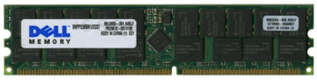 SNPPE2650K1/2GX7 Dell 2GB PC2100 DDR-266MHz Registered ECC CL2.5 184-Pin DIMM 2.5V Memory Module