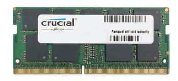 CT16G4TFD8266 Crucial 16GB PC4-21300 DDR4-2666MHz ECC Unbuffered CL19 260-Pin SoDimm 1.2V Dual Rank Memory Module