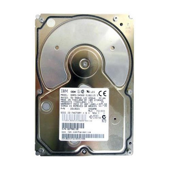 DDRS-34560 IBM 4GB 7200RPM Ultra Wide SCSI 3.5 512KB Cache Hard Drive