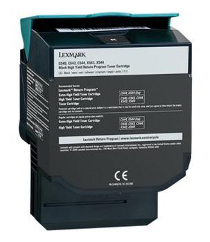 0C540H1KG Lexmark 2500 Pages Black Laser Toner Cartridge for C540 Laser Printer